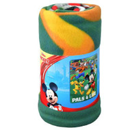 """Blanket Mickey Mouse Roadster Racers Fleece Throw 45x60"""" MICBL"""