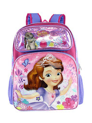Backpack Disney Sofia the First Flower Garden 001360