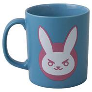 Mug Overwatch D.VA Logo Blue Ceramic 11oz j7857-blue