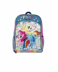 Backpack My Little Pony w/Lunch Bag, Water Bottle, Pencil Case 860858