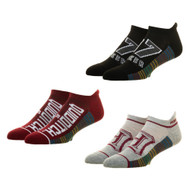 Ankle Sock Harry Potter Quidditch 3 Pair Athletic xs7kluhpt