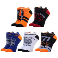 Ankle Sock Naruto 5 Pack xs7b89nar