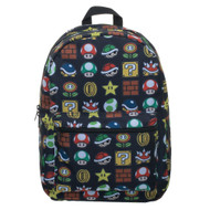 Backpack Nintendo Super Mario All Over Print Sublimated bq7q4esmb