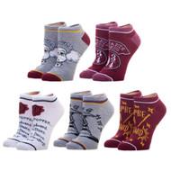 Ankle Sock Harry Potter Hogwarts 5 Pack xs7m2qhpt