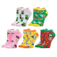 Ankle Sock Cat Food 5 Pack xs7n61plw