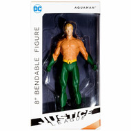 "Action Figures Justice League Aquaman Bendable 8"" dc-3975"