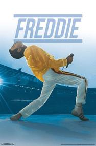 "Poster Studio B Queen Freddie Live 36x24"" Wall Art p7111"