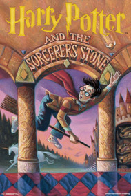 "Poster Studio B Harry Potter Sorcerer�s Stone 36x24"" Wall Art p5200"