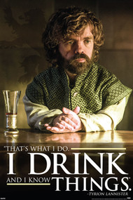 """Poster Studio B Game of Thrones I Drink 36x24"""" Wall Art p1077"""