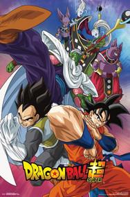 "Poster Studio B Dragon Ball Super Group 36x24"" Wall Art p5459"
