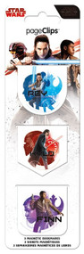 Magnetic Page Clips Star Wars: The Last Jedi bm4630