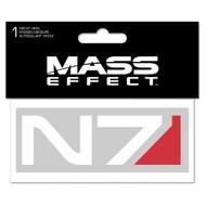 Sticker Mass Effect N7 Logo Vinyl Decal j9417