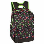 "Backpack Minecraft Scatter Creeper 17"" j8511"