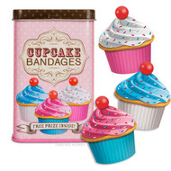 Character Goods Archie McPhee Bandage Cupcake w/Tin 11905