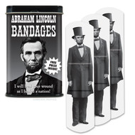 Character Goods Archie McPhee Bandage Lincoln w/Tin 12302
