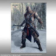 Wall Scroll Assassin's Creed 3 Vol1 Connor Pose Art New