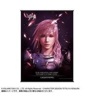 Wall Scroll Final Fantasy VII Lightning Art New