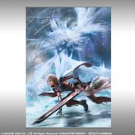 Wall Scroll Final Fantasy XIII Lightnings Returns: Combat Art New