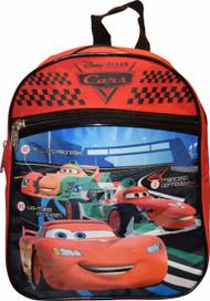 "Mini Backpack Disney Cars McQueen 10"" 032523"