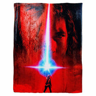 "Silk Touch Throw Star Wars Eps 8 Poster Team Infinity New 45x60"" Blanket"