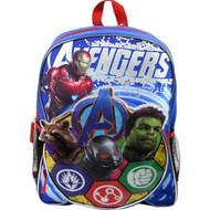Backpack Marvel Avengers w/Shaped Front Pocket AVG30506