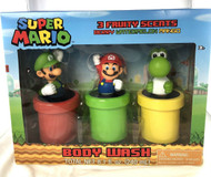 Body Wash Decanter Set Nintendo Super Mario Set-of-3 42RX246HBALZA