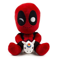 "Plush Marvel Deadpool w/Unicorn HugMe 14"" kr15341"