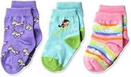 Infant Crew Socks K-Bell Mermaid 3Pk Turqoise (12-24)