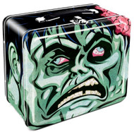 Lunch Box Zombie Head Tin Case Toys48042