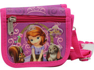 String Wallet - Disney - Sofia the First - Purse Girls Bag New a032777