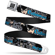 Seatbelt Belt DC Comics Cat Woman V.2 Adj 24-38' Mesh dco-wcw002