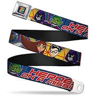 Seatbelt Belt Teen Titans V.7 Adj 24-38' Mesh tta-wtt002