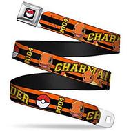 Seatbelt Belt Pokemon V.94 Adj 24-38' Mesh pka-wpk159