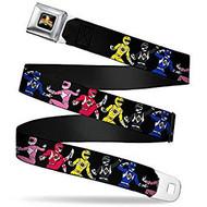 Seatbelt Belt Power Rangers V.15 Adj 24-38' Mesh pra-wpr001