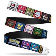 Seatbelt Belt Pokemon V.98 Adj 24-38' Mesh pka-wpk141