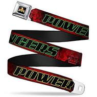 Seatbelt Belt Power Rangers V.21 Adj 24-38' Mesh pra-wpr046