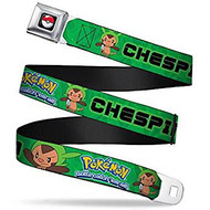 Seatbelt Belt Pokemon V.4 Adj 24-38' Mesh pka-wpk092