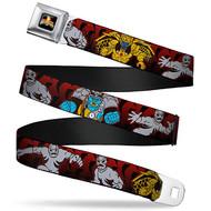 Seatbelt Belt Power Rangers V.22 Adj 24-38' Mesh pra-wpr052