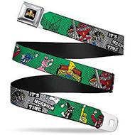 Seatbelt Belt Power Rangers V.23 Adj 24-38' Mesh pra-wpr034