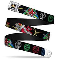 Seatbelt Belt Power Rangers V.24 Adj 24-38' Mesh pra-wpr032