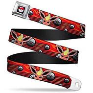 Seatbelt Belt Pokemon V.40 Adj 24-38' Mesh pka-wpk119