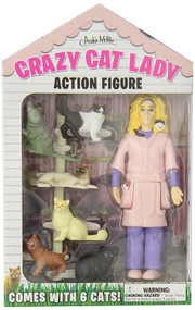 Action Figure Archie McPhee Crazy Cat Lady 12470