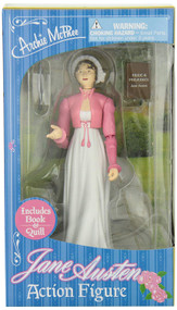 Action Figure Archie McPhee Jane Austen 12443