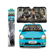 Character Goods Archie McPhee Auto Shade Car Full Of Squirrels 12761
