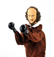 Hand Puppet Archie McPhee Shakespeare Punching 12549