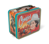 Lunch Box Archie McPhee Cowgirl 12645