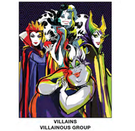"Super Soft Throws Villains Aillainous Group New 45x60"" Blanket"