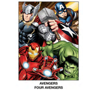 "Super Soft Throws Avengers Four Avengers New 45x60"" Blanket"