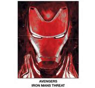 "Super Soft Throws Avengers Iron Man Threat New 45x60"" Blanket"