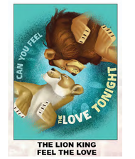 "Super Soft Throws The Lion King Feel The Love 45x60"" Blanket"